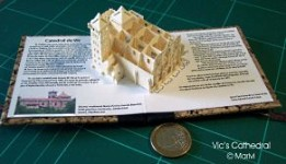 miniature book vic's cathedral